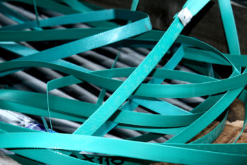 Produktion von Umreifungsbändern